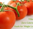 9 best zero calories food for weight loss