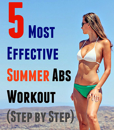 5 most effective summer abs workout