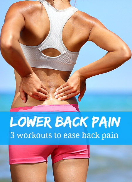 3 workouts to ease back pain