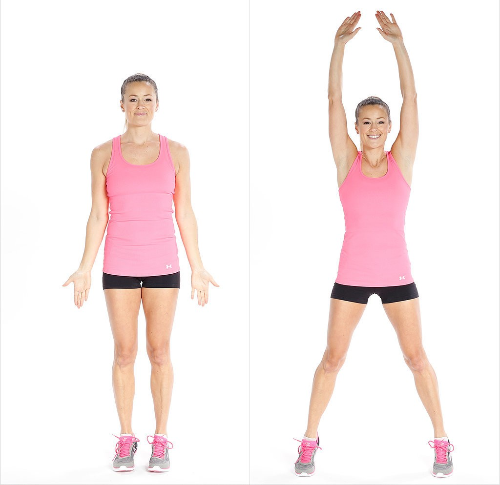 jumping jack workout for flat belly