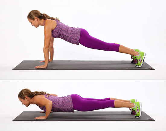 pushups for flat belly