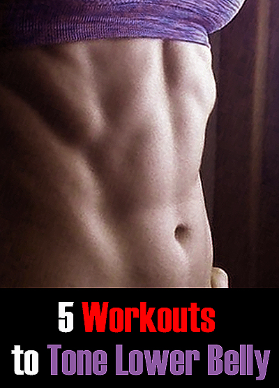 5 Workouts to Tone Lower Belly