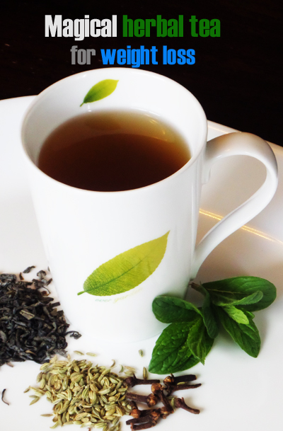 magical herabl tea for weight loss