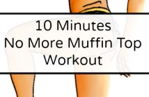 10 Minutes no more muffin top workout
