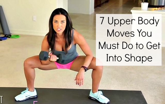These 7 Dumbbell Moves Will Get You into Shape Fast!