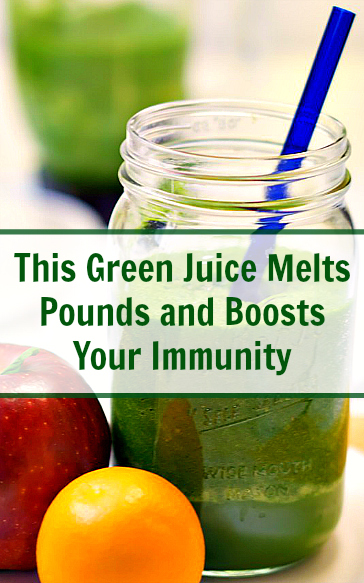 This Green Juice Melts Pounds and Boosts Your Immunity