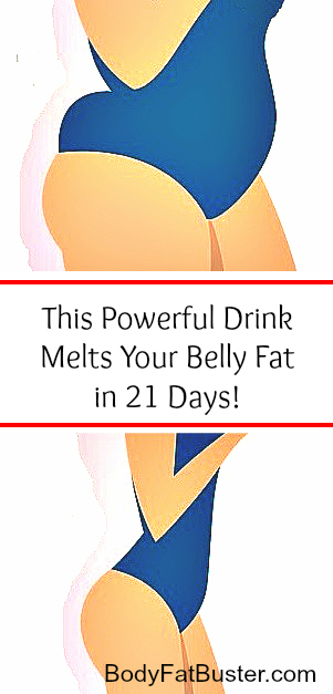 This Powerful Drink Melts Your Belly Fat in 21 Days!