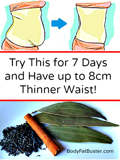 Try This 7 Days and Have up to 8 cm Thinner Waist!