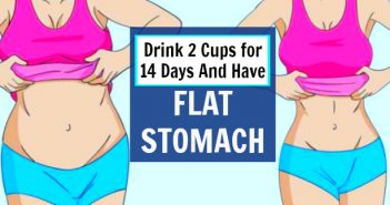 flat stomach in 14 days