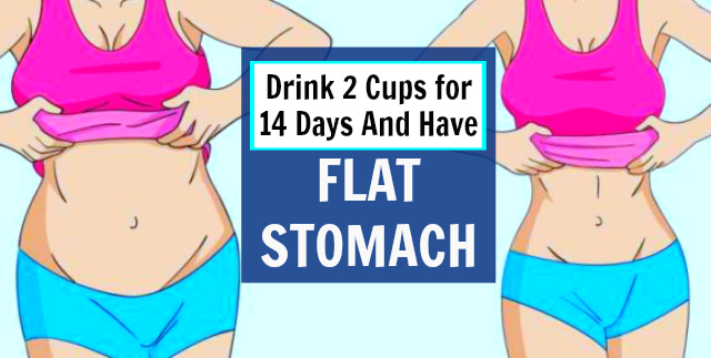 What To Eat And Drink To Get A Flat Stomach
