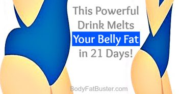 This Powerful Drink Melts Your Belly Fat Immediately